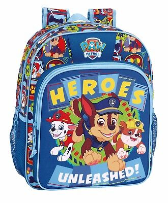 "PAW PATROL ""HEROES"" Mochila Junior adaptable a carro// Junior Rucksack"
