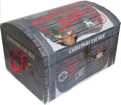 Small Christmas Eve Chest Style Box Night Before Xmas North Pole Delivery 40cm