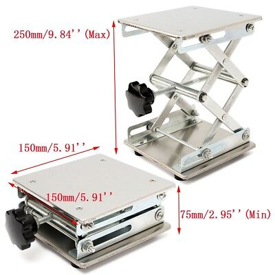 Lab Stand Table Scissor Lift laboratory 150*150mm