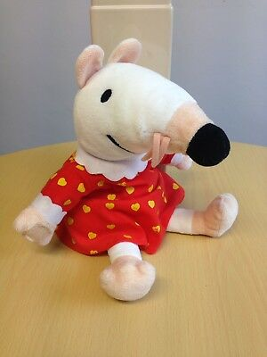 """Maisy Mouse Puppet. Lucy Cousins 2011. Approx 11""""."""