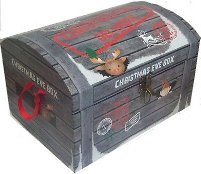 Large Christmas Eve Chest Style Box Night Before Xmas North Pole Delivery 50cm