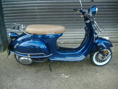Lexmoto Milano scooter 125 ped scoot HPI clear 2k