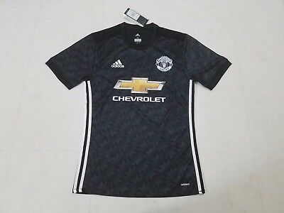 Manchester United shirt 2017/18 black away player version size XL (M/L)