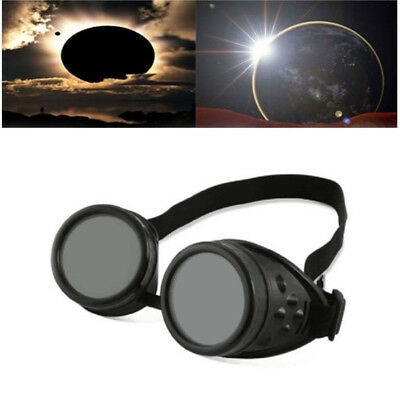 Solar Eclipse Glasses  Shade 14 Goggles CE Certified Safe Sun Viewing Black