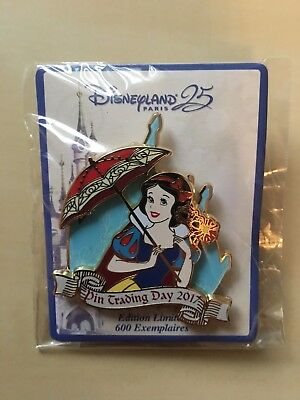 Disney Pin Trading Day Blanche Niege/Schneewittchen 25E LE600!
