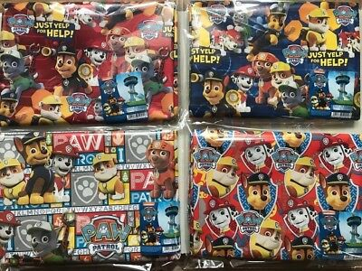 Paw Patrol Birthday Christmas Gift Wraping Paper Official Accessories 2m X 70cm