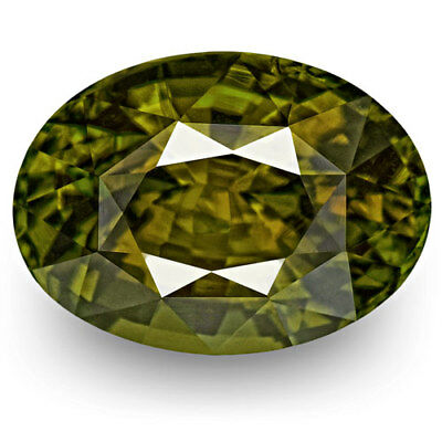 4.87-Carat Exceptional Oval-Cut Madagascar Alexandrite with Strong Color-Change