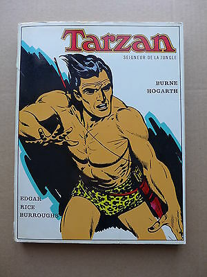 Burne Hogarth - Tarzan seigneur de la jungle  /  1973