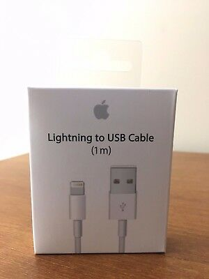New Apple lighting 8 Pin USB Cable Power Cord for iPhone 7, 7+, 6S, 6 3ft