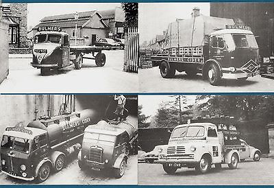 4 Truck Lorry Postcards ~ Brewery: Bulmers & Scottish - Billingham Motor Cards