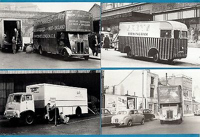 4 Postcards ~ Vans: Guest Carriers: Greys Birmingham: Walls - Motor Cards
