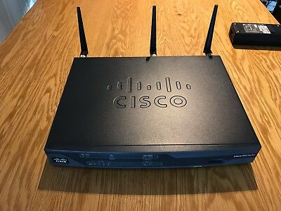 Cisco 881-W advsecurity Wireless Integrated Services Router with PSU