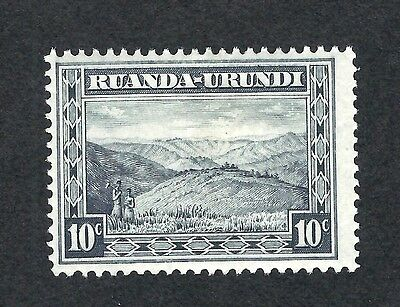 mjstampshobby 1931 Ruanda SG Nr 85 Grey Hinged Mint (Lot1124)