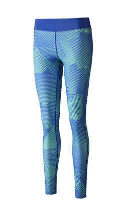 Mizuno Pantalone Running Donna Phenix Printed Long Tights WOS  Sweatpants
