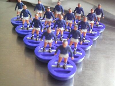 Subbuteo Rugby Scotland France Team Heavyweight Figures R3 **good Condition**