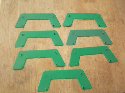 7 Subbuteo Rugby Goal Post Bases **good Used Condition**