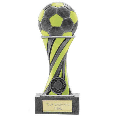 Football Glow In The Dark Man Of The Match Trophy Award Free Engraving A1846