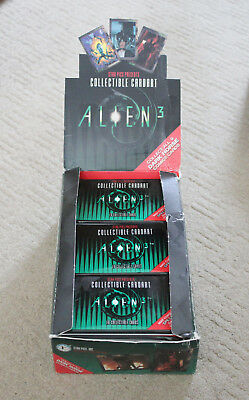 Full box (36 new/sealed packs) Of Alien 3 Trading Cards 1992 by Star Pics