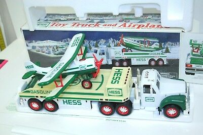 NEW HESS 2002 Truck & Airplane Biplane Collectible Large Scale *Tested*Works*