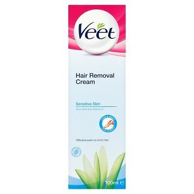 Veet Hair Removal Cream for Sensitive Skin, 100 ml