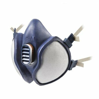 3M 4251 Maintenance Free Reusable Half Mask FFA1P2RD, Single Respirator