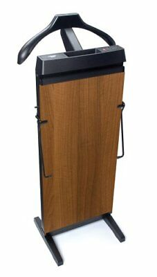 CORBY 4400 Trouser Press. 15  30 Minute Timer. Walnut Wood Effect Finish. 240 V