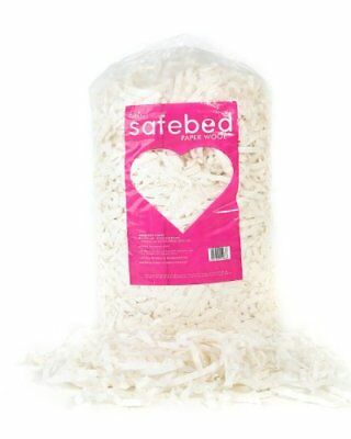 Petlife Safebed Paper Wool Small Animal Bedding for Rabbit, 2 Kg
