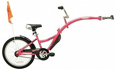 WeeRide Co Pilot Tagalong Trailer Bike - Pink, 20 Inch