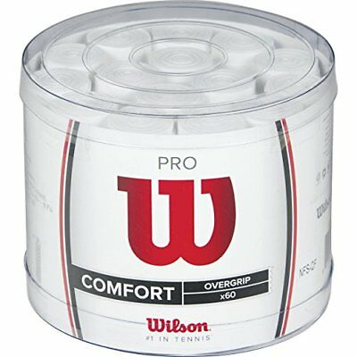 Wilson Pro 60 BCKT WH Over Grip - White