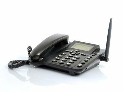 BW Wireless GSM Desk Phone - 2.4 Inch, Quadband, SMS Function. The Standard Hand