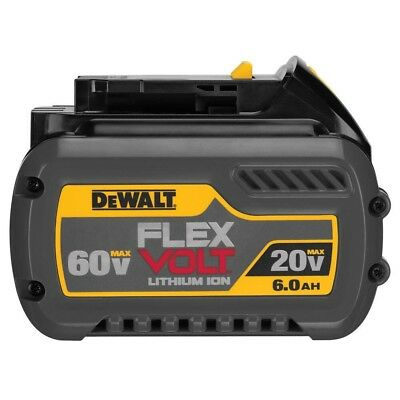 DEWALT DCB546 XR FlexVolt Slide Battery 18 / 54 Volt 6.0Ah Li-Ion