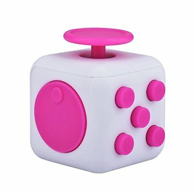 Fidget Cube 6 Sided Fidget Toys Cube Relieves Stress And Anxiety for Children an