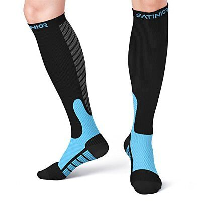 Satinior Compression Socks 10-20mmHg for Men and Women, Graduated Sport Stocki