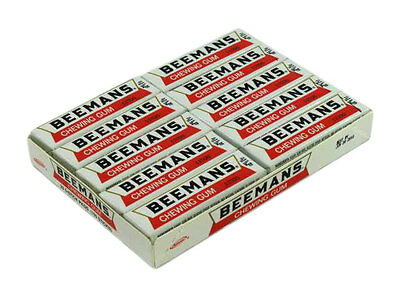 Beemans Chewing Gum 20 packs new and sealed - Vintage