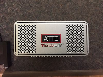 Open Box - ATTO Thunderlink NT-1102 - Thunderbolt to 10GBASE-T - RJ-45 - New