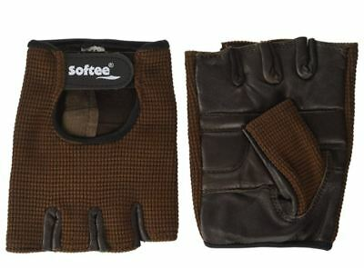 Guantes FITNESS Marrón  M