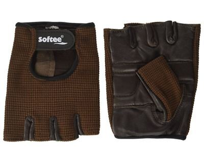 Guantes FITNESS Marrón  S
