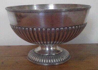 Vintage large silver plate trophy, silver, trophy, trophies, NOT ENGRAVED