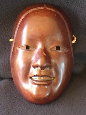 The Ichi - i Wood Carving Face Mask