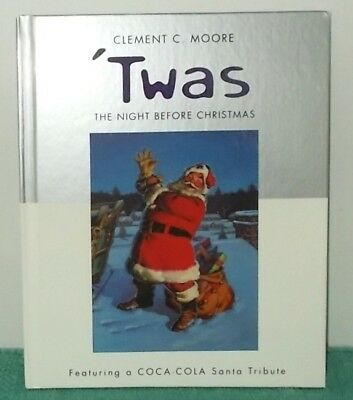 'Twas the Night Before Christmas' Coca-Cola Santa Tribute-Coke Art-Hallmark Book