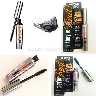 Benefit They're Real Beyond Mascara Black 8.5G Uk Seller Volume
