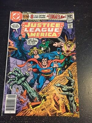 Justice League America#182 Awesome Condition 6.0(1980) Felix Faust App!!