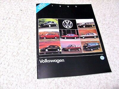 1990 Volkswagen (Usa) Sales Brochure..