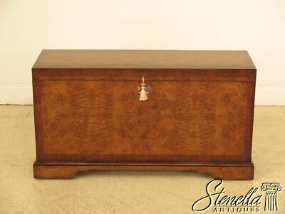 L28688: THEODORE ALEXANDER Althorp Collection Walnut Storage Chest