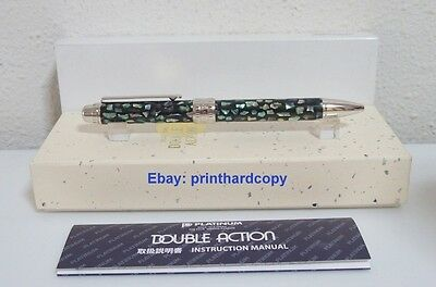 New Platinum Double 3 Action Mother of Pearl Multi Function Pen Beautiful.
