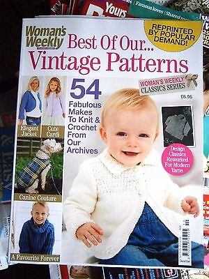 Woman's Weekly Classics Series Best Of Our Vintage Patterns  Issue 10 (new)