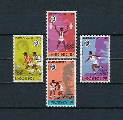 Lesotho 209-12 MNH, Olympic Games, 1976