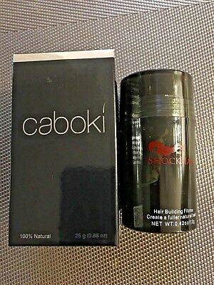 Caboki 25g + FREE 12g ShockHair  Hair Loss Fibres