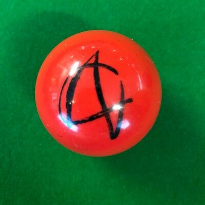 Ali Carter Hand Signed Red Snooker Ball.