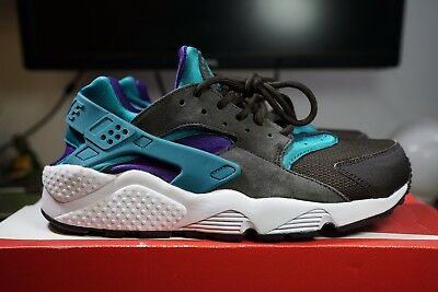 NIKE X SIZE  Exclusive Air Huarache Le 2013 Teal Pack - Sz 12 Rare ... 813afc8e6